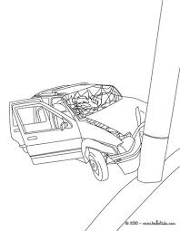car crash coloring pages hellokids com