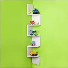 zig zag wall shelf melannco zigzag wall shelf in black ko shape