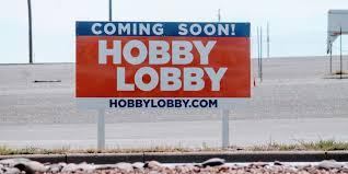 hobby lobby starts construction