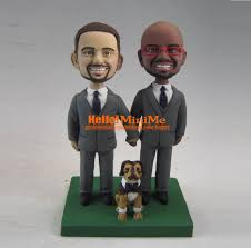 same wedding toppers same wedding cake topper bobblehead custom wedding