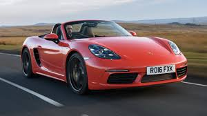 porsche boxster 2017 porsche 718 boxster review top gear
