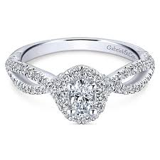 white gold halo engagement rings 14k white gold 78cttw oval halo engagement ring with