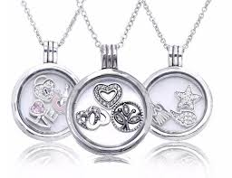 pandora necklace with charm images Charming floating locket necklace and charms 2017 925 sterling jpg