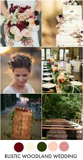 25 rustic wedding colors ideas fall wedding