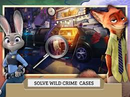 zootopia crime files hidden object disney lol