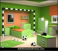 sports themed bedrooms delightful kids sports themed bedroom 3 soccer bedroom