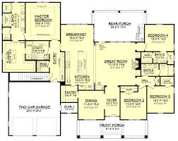 House Plans Craftsman Style Frontier Lane House Plan House Plans Craftsman Style House