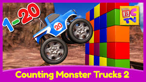 counting monster trucks 2 learn count 1 20