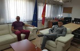 bureau president the president of the association of montenegro of kosovo meets the
