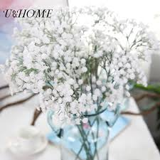 Baby Breath Aliexpress Com Buy Cheap Plastic Baby Breath Artificial Flowers