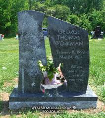 unique headstones workman