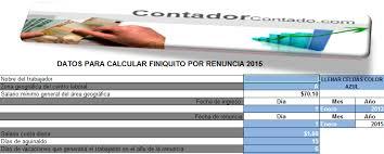 calculadora de salario diario integrado 2016 calculadora finiquitos 2018
