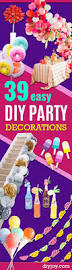 Cheap Party Centerpiece Ideas by 39 Easy Diy Party Decorations Diy Joy