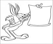 bugs bunny looney tunes daffy duck s032c coloring pages printable