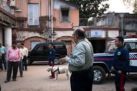 indian police jeep dogs on defense what life is like for the canines of india u0027s police
