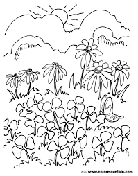 cloverfield coloring sheet create a printout or activity