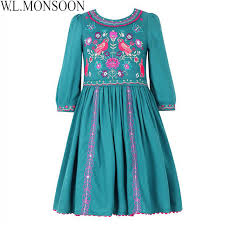 monsoon dresses aliexpress buy w l monsoon kids dresses for clothes