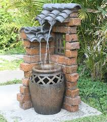 awesome decorative fountains outdoor decorative wall garden