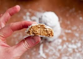 chai spiced snowball cookies gluten free and vegan cafe johnsonia