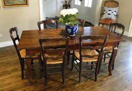 French Country Table by French Provence Antique Farm Country Dining Table With Charming