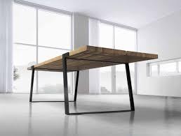 Esszimmertisch Aus Paletten Essen Kommen Design Esstisch Gigant Wildeiche Stahl Holz