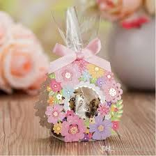 wedding gift guest laser cut wedding favor boxes wedding gifts for guest flower candy