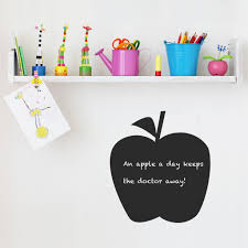 apple chalkboard wall sticker spin collective apple chalkboard wall sticker