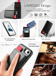 iphone 6 amazon black friday 2016 amazon com iphone 6 wallet case iphone 6s leather case lameeku