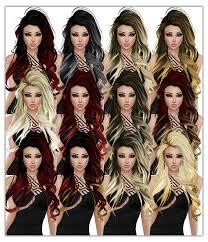 hair generator imvu natural ombre hair generator mirror image stock
