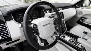 range rover dashboard range rover supercharged review autoevolution