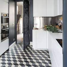 black and white kitchen floor images black and white flooring ideas decorating ideal home