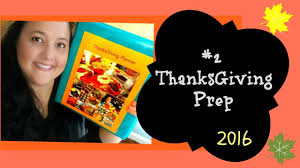 2 thanksgiving prep menu and grocery list