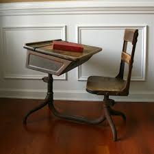 Small School Desk by Old School Desk And Chair Desk Chairs