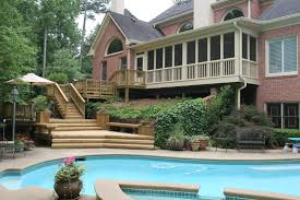 covered porch pictures screened porches st louis decks screened porches pergolas by
