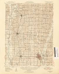 missouri county map with roads missouri historical topographic maps perry castañeda map