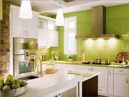 Green Kitchen Cabinets Kitchen Room Elegant Green Kitchen Cabinets Painted And Small