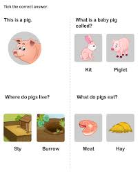 kids learn with our farm animal printable worksheet free