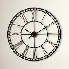 decorative wall clock sunburst wall clock trent austin designreg malden round oversized
