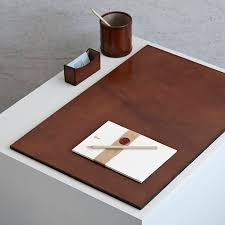 Leather Desk Accessories Uk Leather Desk Set Large By Of Notonthehighstreet