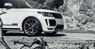 land rover white black rims land rover applications custom body kits u0026 carbon fiber aero kits
