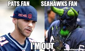 Seahawks Memes - pats fan seahawks fan i m out meme custom 18893 page 2
