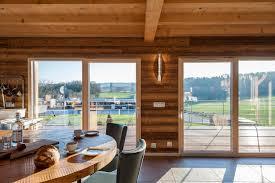 maison en bois interieur ambiance intérieure maison ossature bois boillod construction