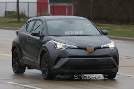 toyota usa 2017 u s spec 2017 toyota c hr prototype spied testing in michigan