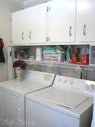 how to organize a kitchen cabinets laundry room makeover ask anna