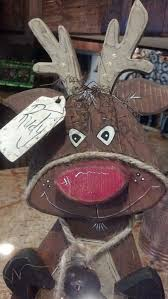 Free Small Wood Craft Plans by Best 25 Wooden Reindeer Ideas On Pinterest Christmas Garden
