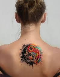 Yang Yang Tattoos Colorful Yin Yang Inkstylemag
