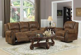 Microfiber Reclining Sofa Quinn Bomber Jacket Microfiber Recliner Collection
