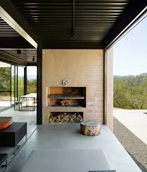 Modern Outdoor Gas Fireplace by 12 Amazing Modern Outdoor Fireplaces Design Milk