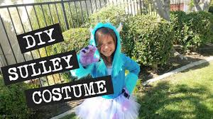 sully costume diy sully costume from monsters inc