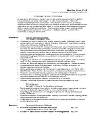 Human Resources Resume Objective Hr Coordinator Resume Objective Free Resume Example And Writing